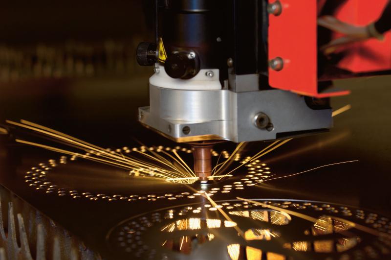 Metal laser cutting job work Service